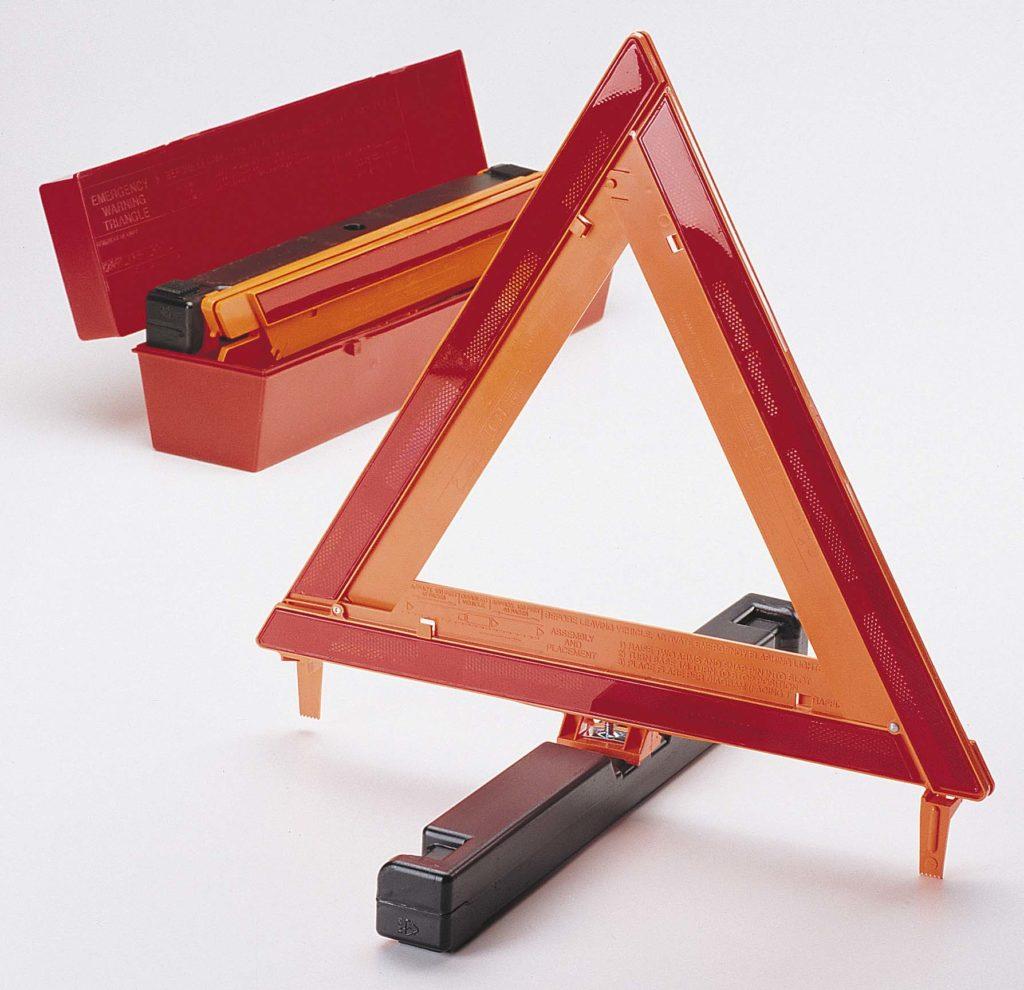 Narva safety triangle set 84200