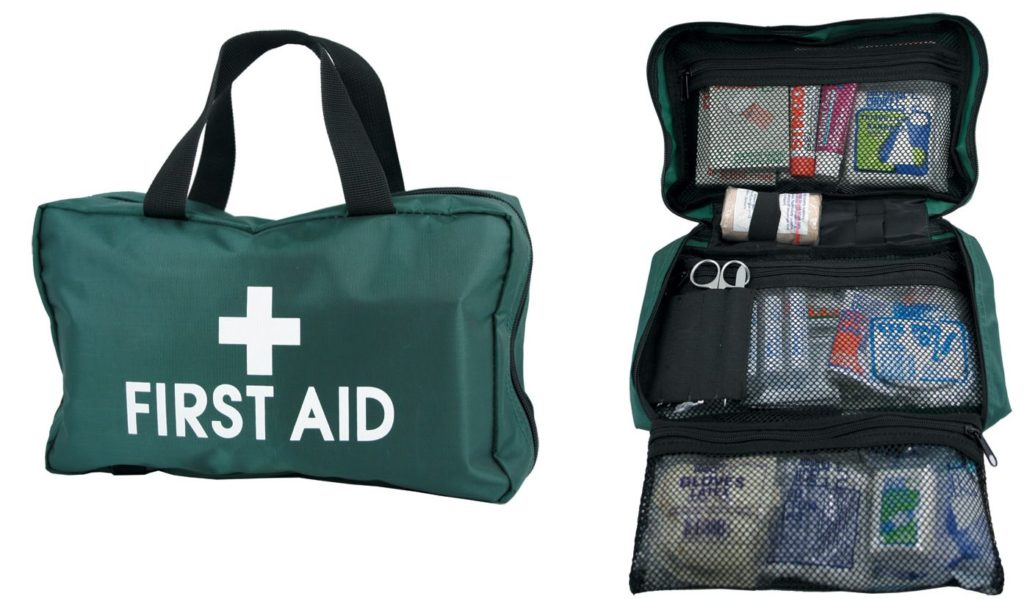 first aid remote area kit contents