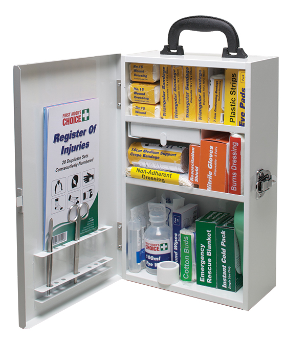 Workplace first aid kit contents