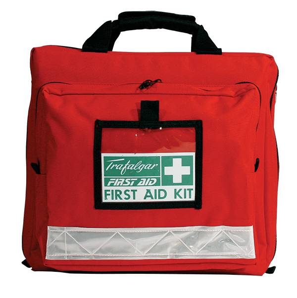 Workplace first aid kit softpack closed