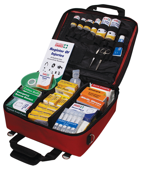 Workplace first aid kit softpacs
