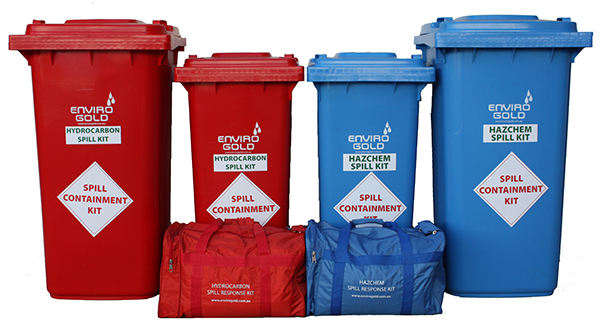 Enviro Gold Spill containment response Kit range
