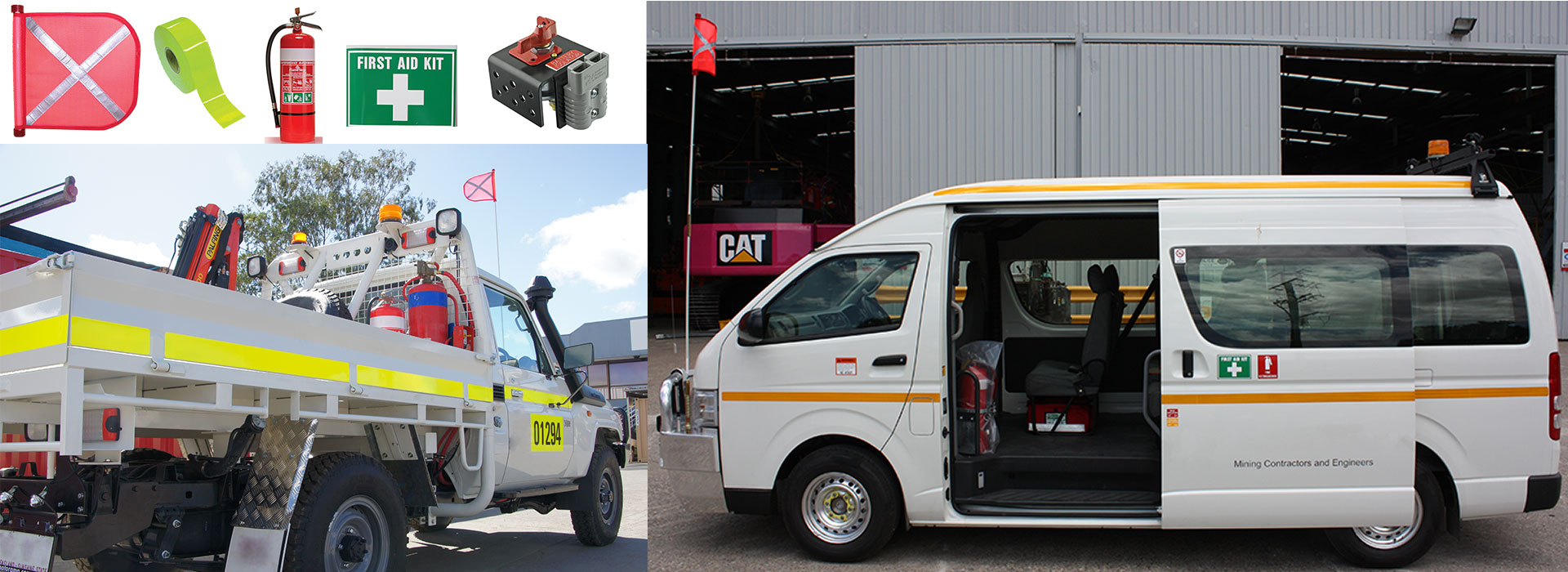 Vehicle safety - site product range