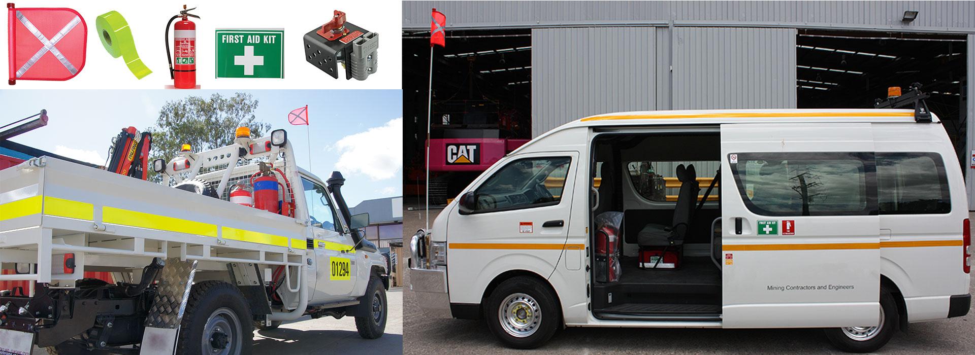 Vehicle safety - site product range