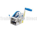 Boat trailer winch product shot sold at Trailer Spares Drect