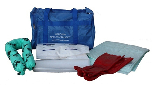 Chemical Spill response portable kit contents