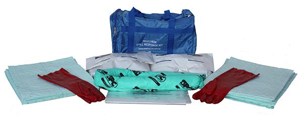40L Hazchem spill response kit contents