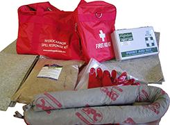 Transport spill kit bag - portable